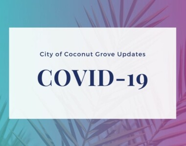 Coconut Grove Response to COVID-19