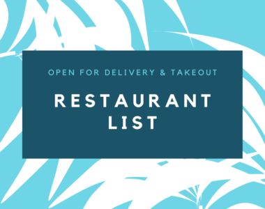 Click for Coconut Grove Restaurants Open for Takeout and Delivery List
