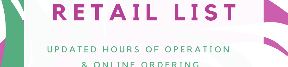 Retail Businesses Open
