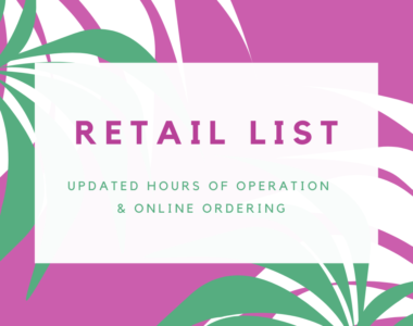 Click for Retail List of Updated Hours of Operation & Online Ordering for Coconut Grove Businesses during COVID-19