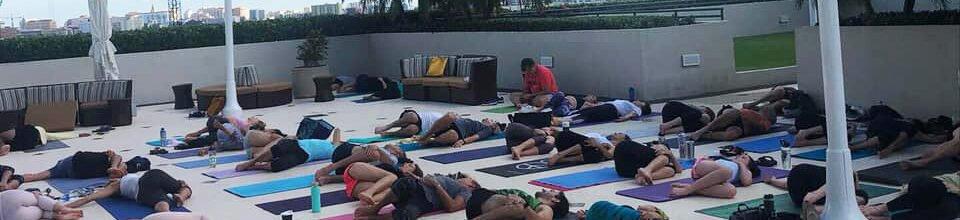 Free Yoga at Hotel Arya